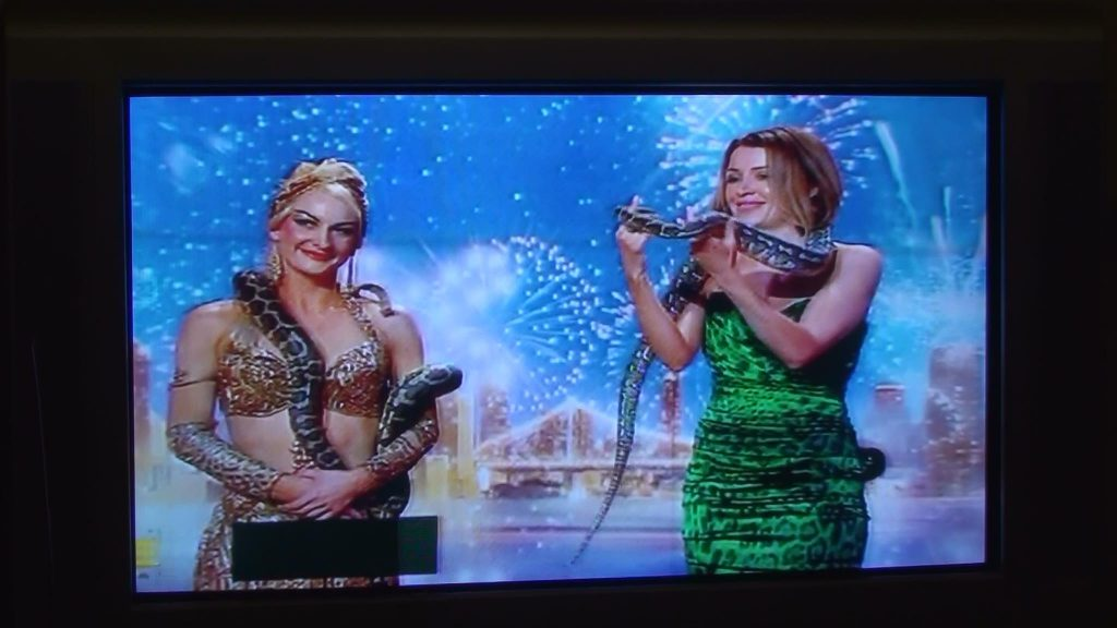 Dannie Minouge and Flavella L'Amour on Australia's Got Talent