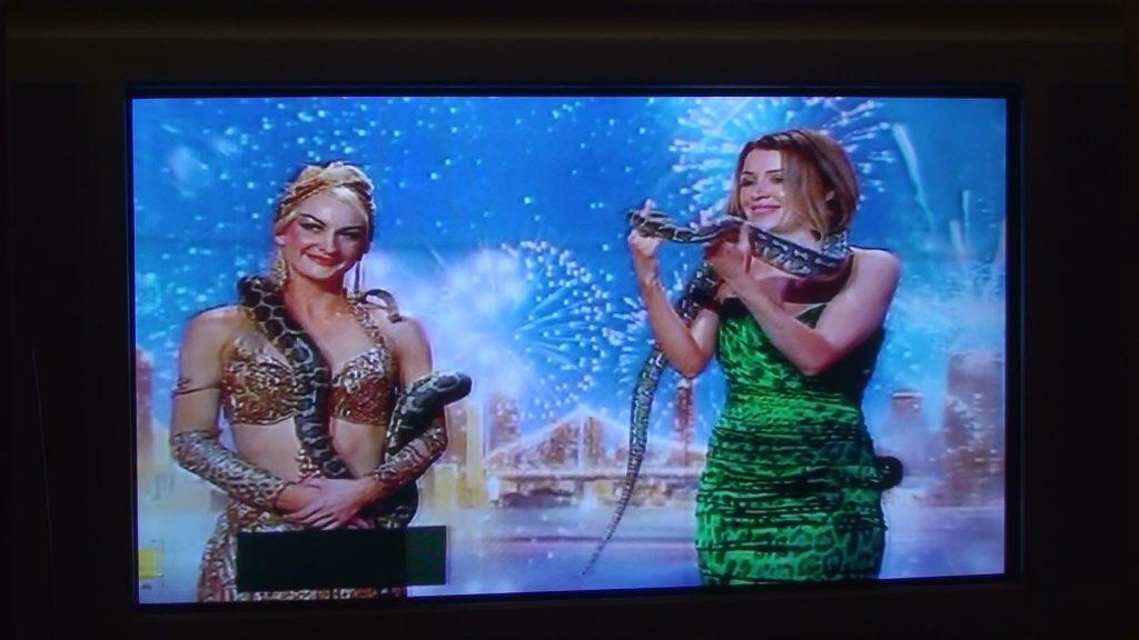 Dannie Minouge and Flavella L'Amour on Australia's Got Talent