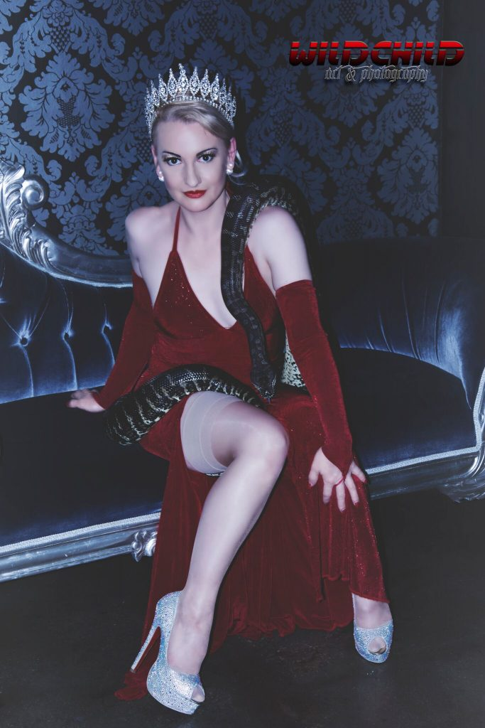Serpent Dancer Flavella L'Amour Wild Heart Magazine