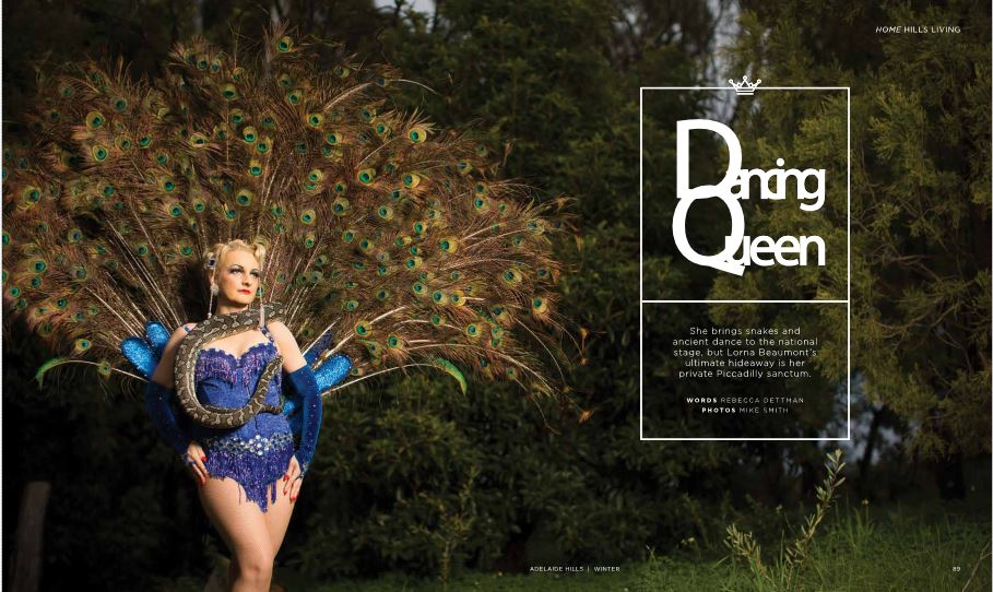 Serpent Dancer featured in Fritz Magazine